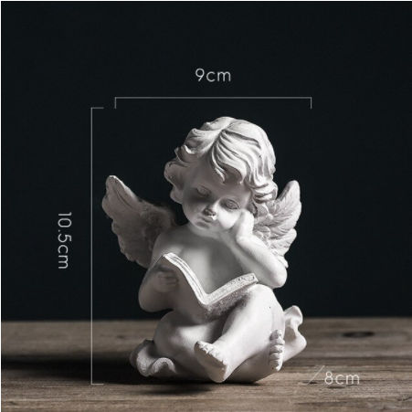 Northern Europe Lovely Angel Dtatue | Fairy Tale Garden Home Decoration