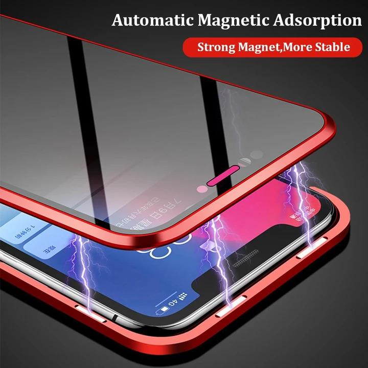 (Promotion -50%OFF-) - Anti-peep Magnetic Phone Case ( Double Side) - Buy 2 Free Shipping