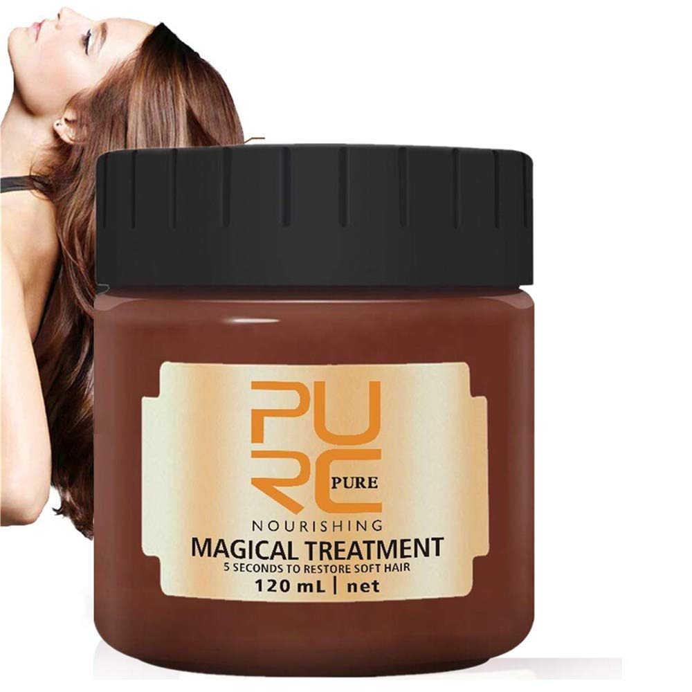 Best Damaged Hair Treatment - PURC™ 5sec Advanced Keratin Hair Treatment - (Only For Today Buy 2 Free Shipping)-Also for curly hair