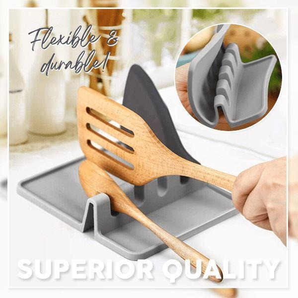 💥Early Summer Hot Sale 50% OFF💥Heat-Resistant Utensil Rest(BUY 2 GET 2 FREE!)