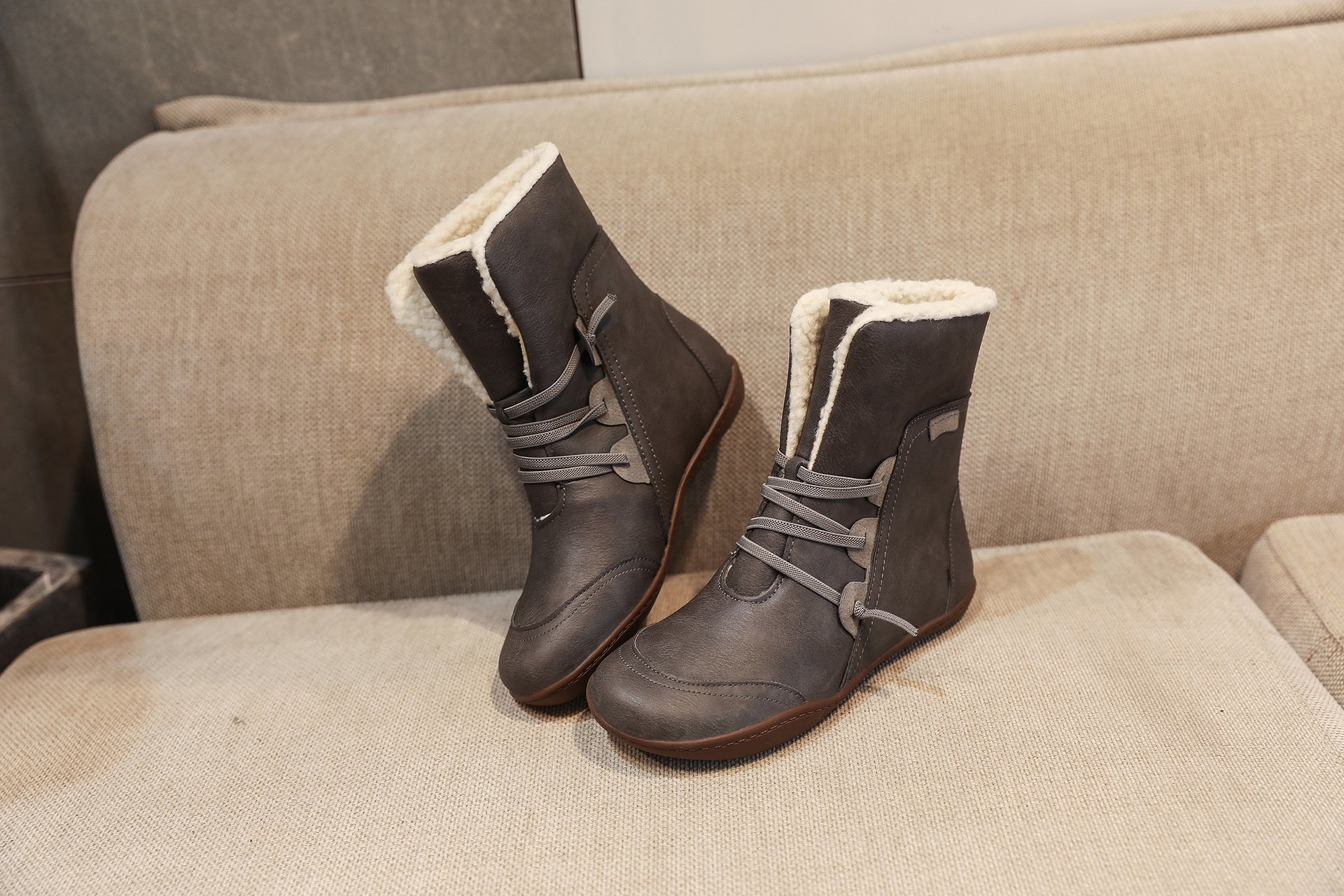 Women's  Leather Winter Boot