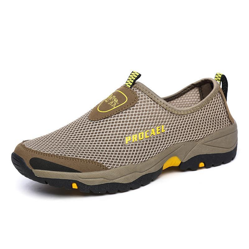 Men's Mesh Breathable Hollow Explosion Water Shoes