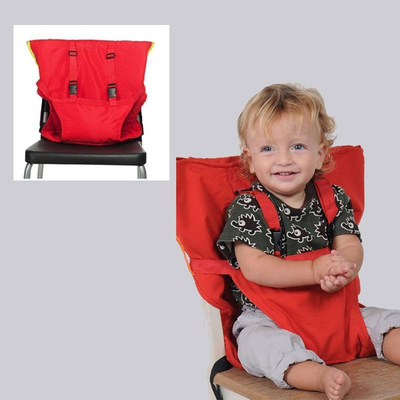 Portable Adjustable Baby High Chair Harness Easy Seat for Baby/Kid/Toddler