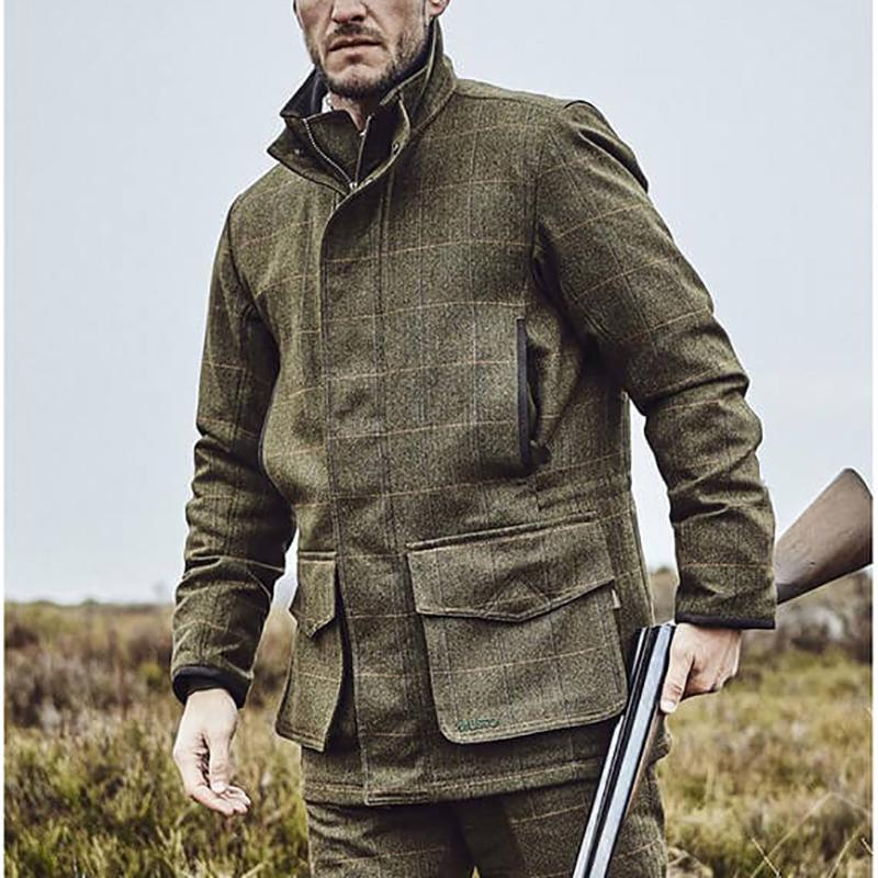 (The Last Day! 40% Off)Musto Lightweight Machine Washable Gore-Tex Tweed Jacket