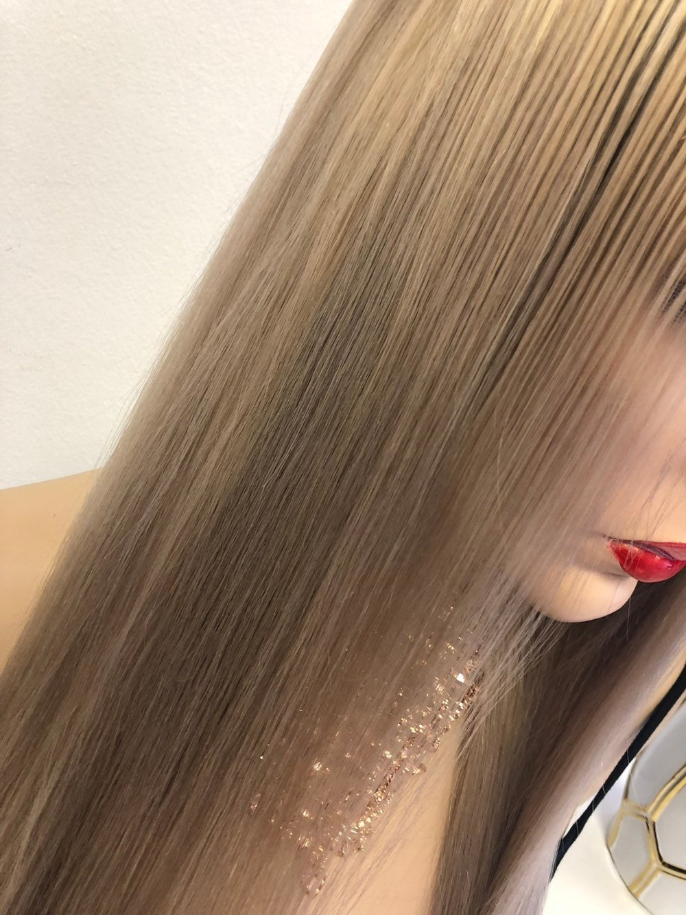 Natural Blond Balayage Ombre full lace wig | Hope 1118