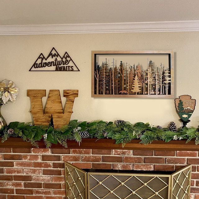 The Wide Woods - 7 Layer Creative Wall Art