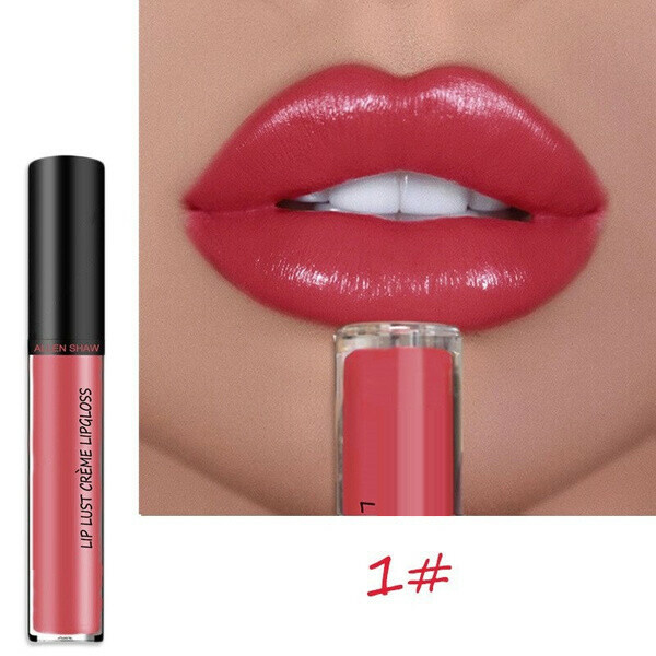 12 Colors Long Lasting Liquid Lipstick🔥$9.99 ONLY TODAY!🔥-BUY 4 FREE SHIPPING