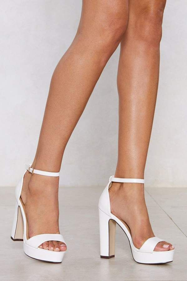 Trendy High Heel Shoes Nude Court Shoes Nude Patent Shoes
