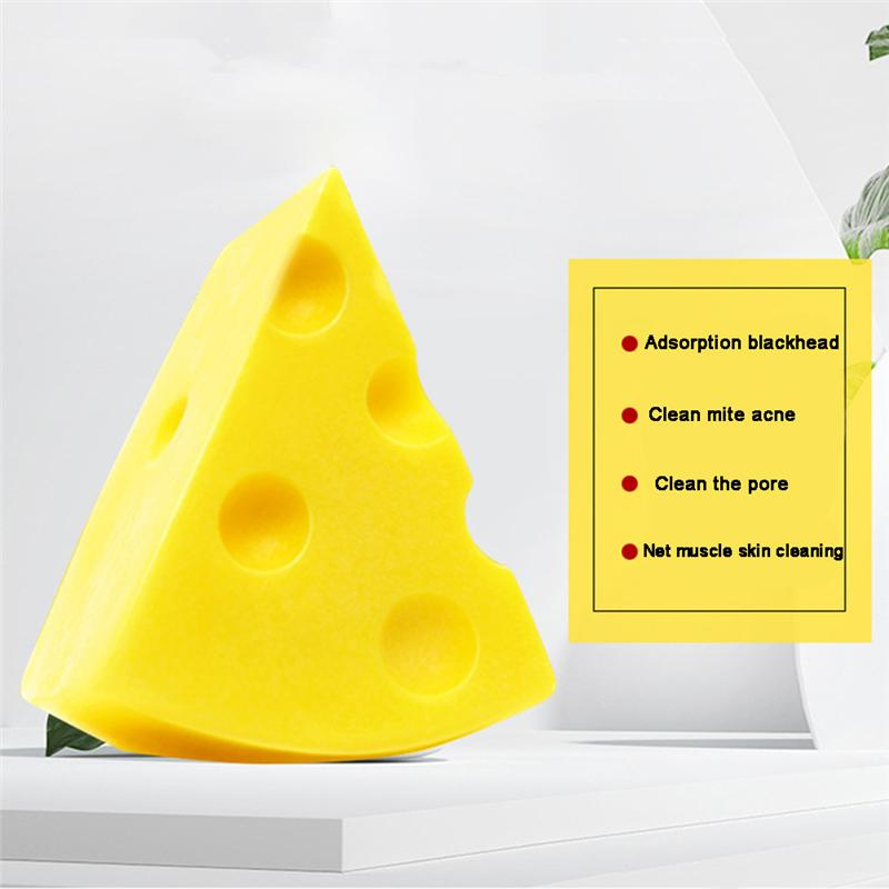 Cheese Brushed Soap Anti-acne Oil-control for Face Cleaning