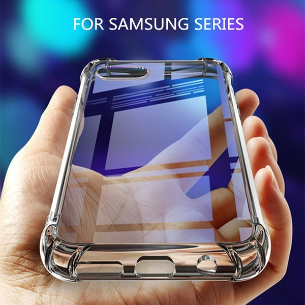 Flexible Slim Silicone Gel TPU Clear Case for Samsung Galaxy Xcover 4S 4 A80 A10E A40S A60 A20 Core A20E A70 A40 A10 A50 A30 A8S A6S M40 M30 M20 M10 S10 S9 S8 Plus S10E Note 10 9 8 5 Active S7 Edge C10 C7 J6 J4 J2 Core J8 J7 J3 J2 Pro A9 A7 A6 Plus 2018 S