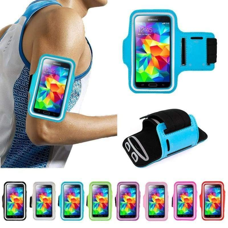 11 Colors Premium Cycling Running Jogging Sports Gym Armband Case Cover for Samsung Galaxy S/Note iPhone 4/5/6/6S Plus