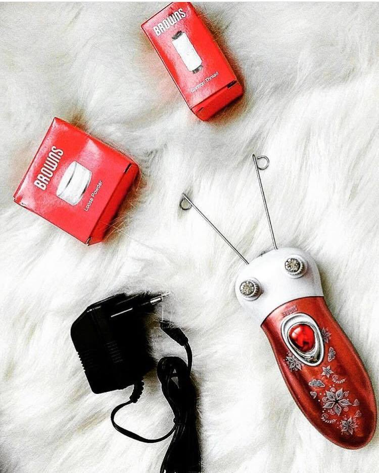 Electric Epilator with Browns Wire