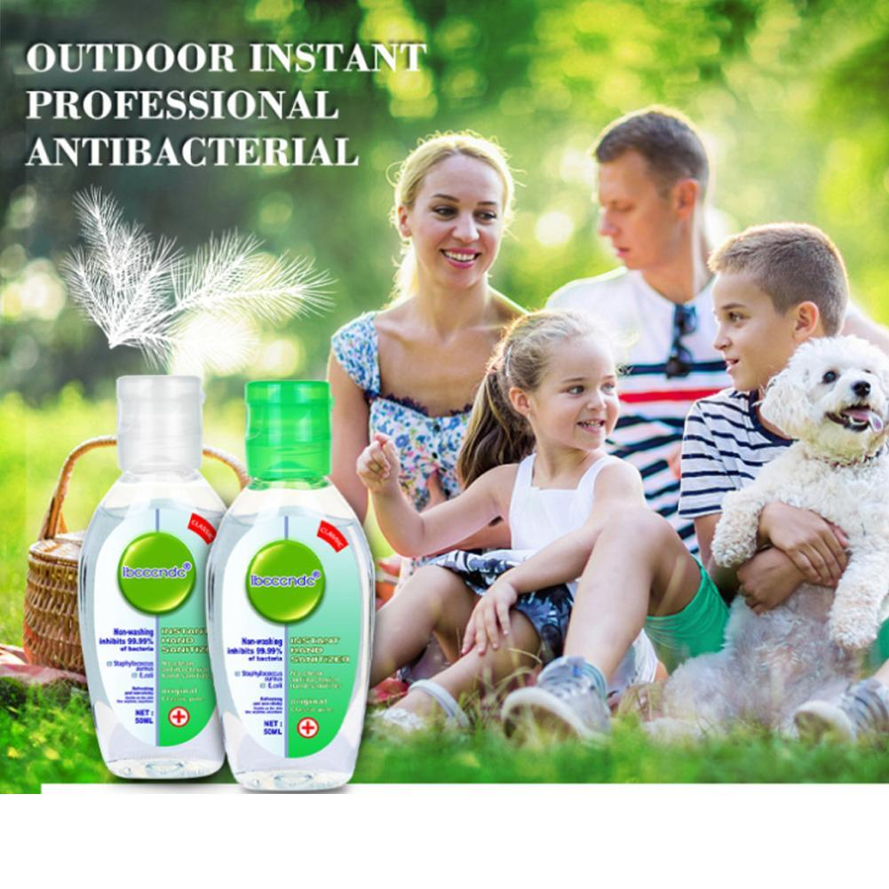 50ml Disposable Quick-dry Antibacterial Disposable Disinfection Gel Portable Cute Wipe Out Bacteria Hand Sanitizer Gel
