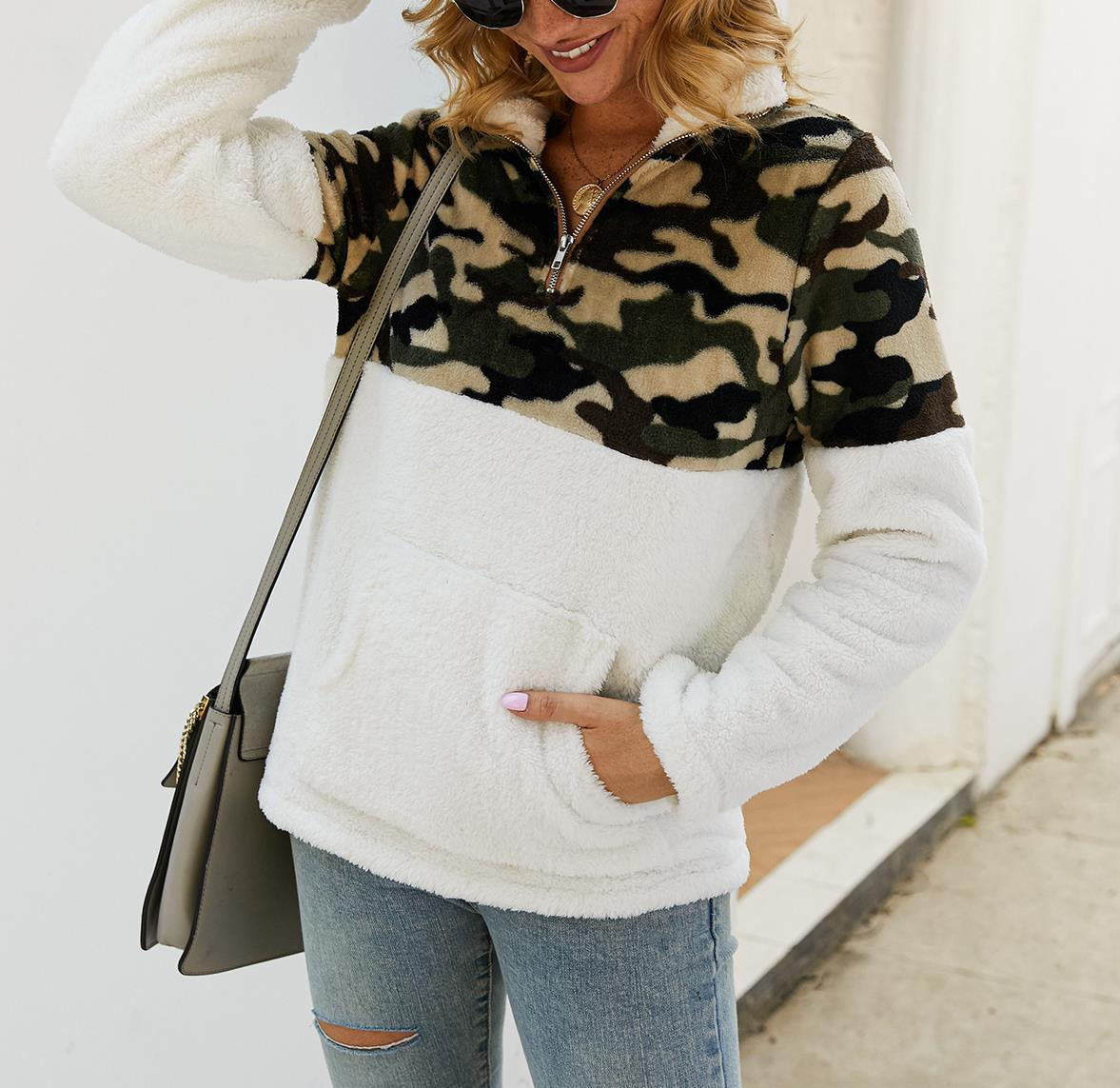 Camo Long Sleeve with Hoodies