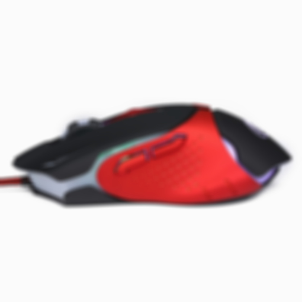 Wired Gaming Mouse 6 Key 3200DPI Adjustable Office Gamer Mice 7 color Backlight LED USB Wired Mouse Optical for Laptop Compute