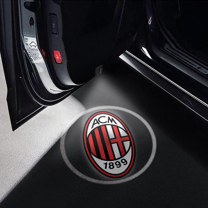 CarFitg Wireless Led Car Door Projector Puddle Logo Light - AC Milan