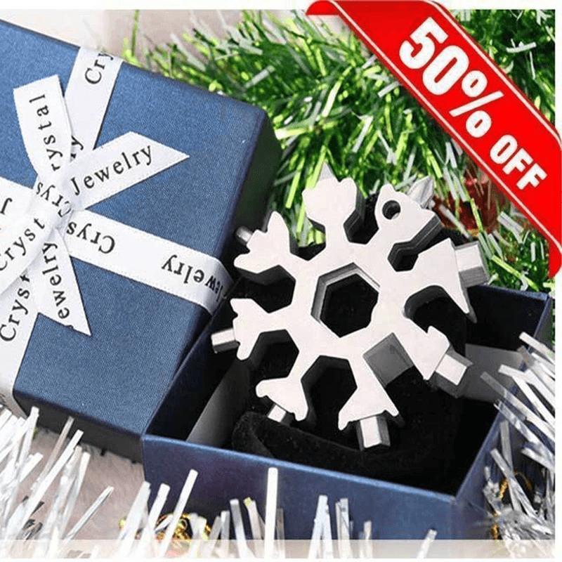 18 in 1 Snowflake Multi-tool(Buy 1 get 1 free)