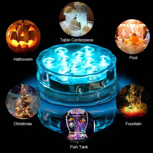 (SUMMER HOT SALE-50% OFF)Submersible Led Pool Lights With Remote Control