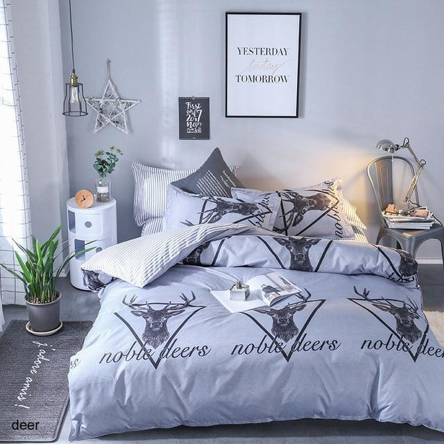 Bedding Sets different Pattern Bed Sheet .