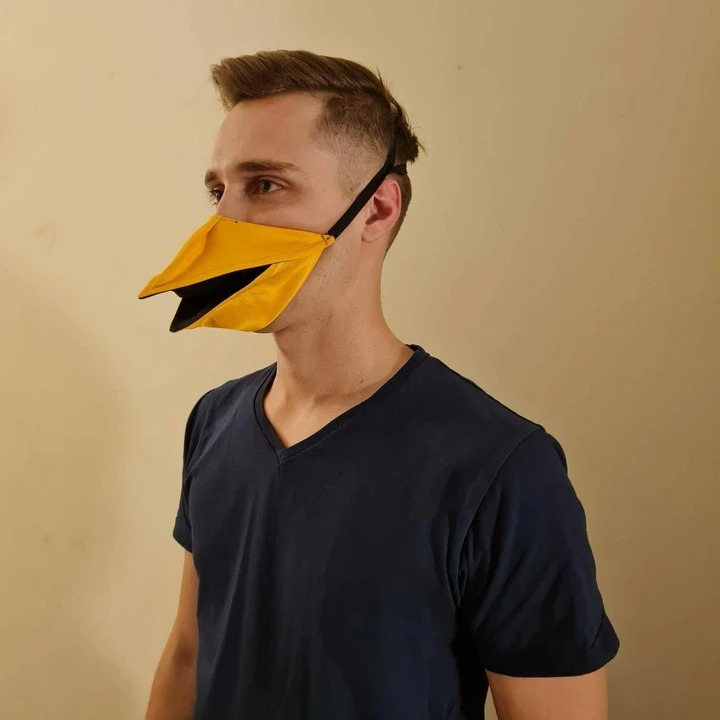 Hand Made Duck Talking Face Cover - FIEFDOM DESIGNS™