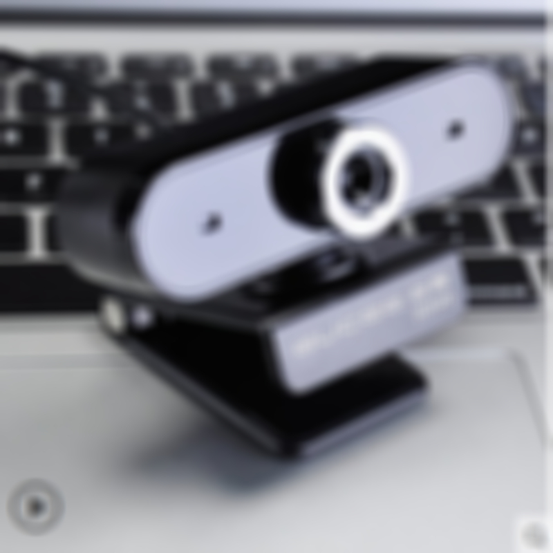 1080p Built-in Microphone USB Webcam Rotatable