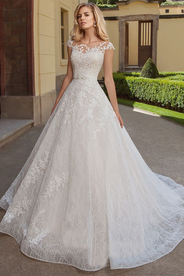 2020 New Fashion Dress Wedding Dresses Wedding Dress Stores Floral Print Gowns Bridal Train Styles Short Formal Dresses Near Me