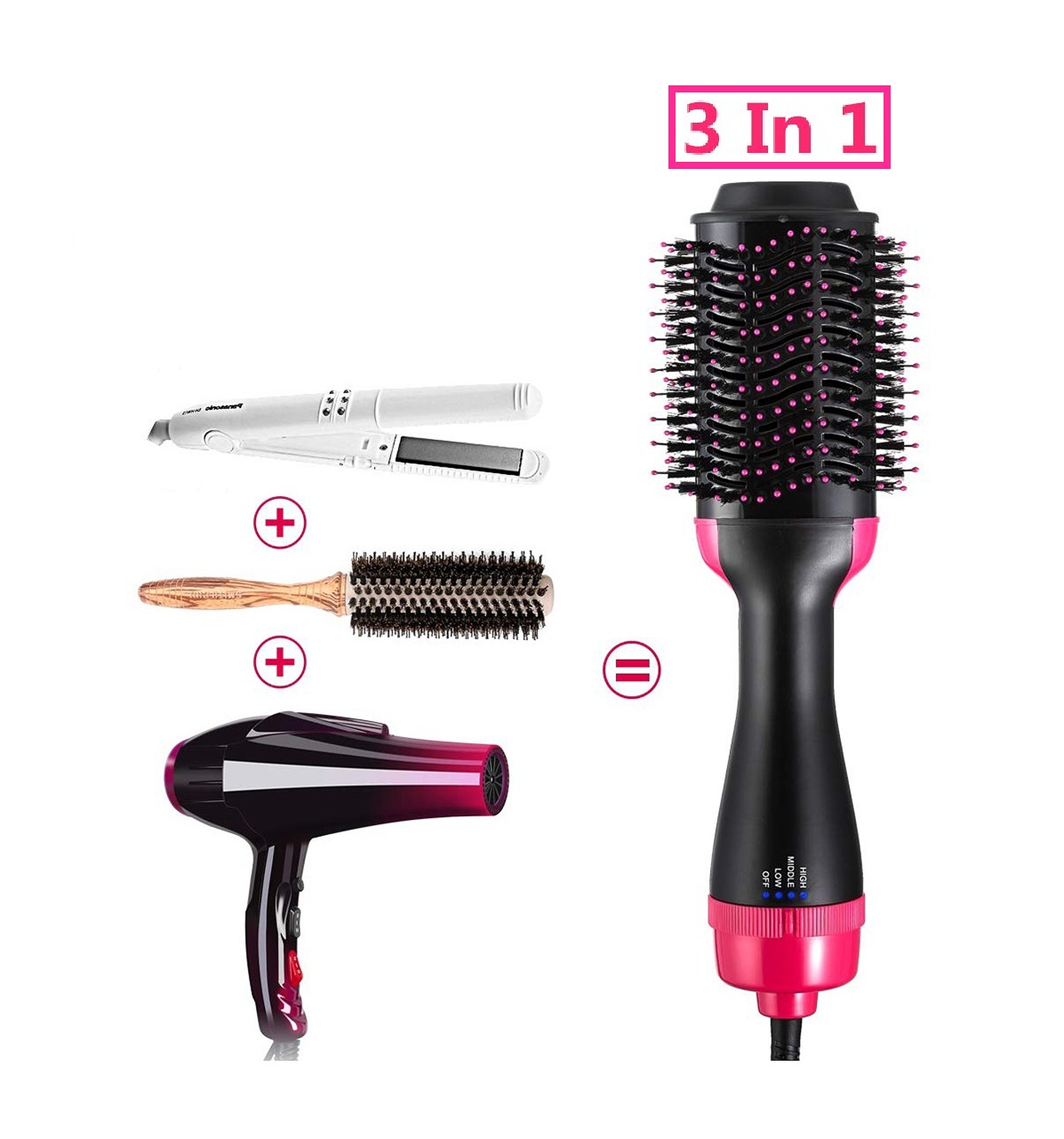 【ON SALE AT 60%OFF】ONE-STEP HAIR DRYER & VOLUMIZER (2 IN 1) - Buy 2 GET 10%OFF & FREE SHIPPING