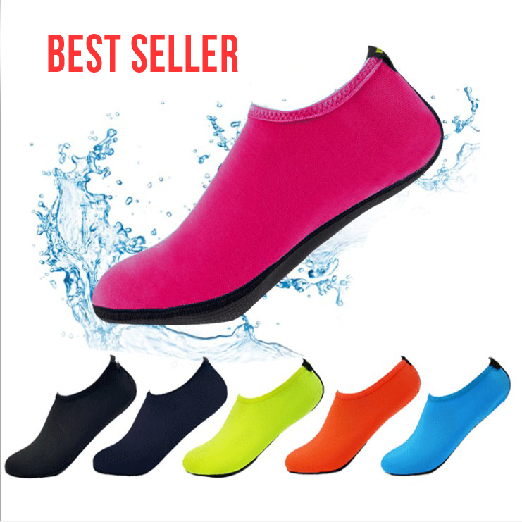 (🔥Clearance Sale - 65% OFF) Womens And Mens Water Shoes Barefoot Quick-Dry Aqua Socks,Buy 3 Get Extra 10% OFF