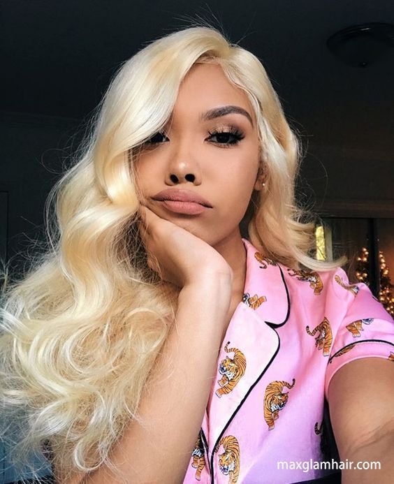 2020 Fashion Blonde Wigs For White Women Blonde Blunt Cut Wig Dark Blonde To Light Blonde Messy Blonde Wig Wella Blonde Brown With Blond Highlights Lace Frontal Wigs