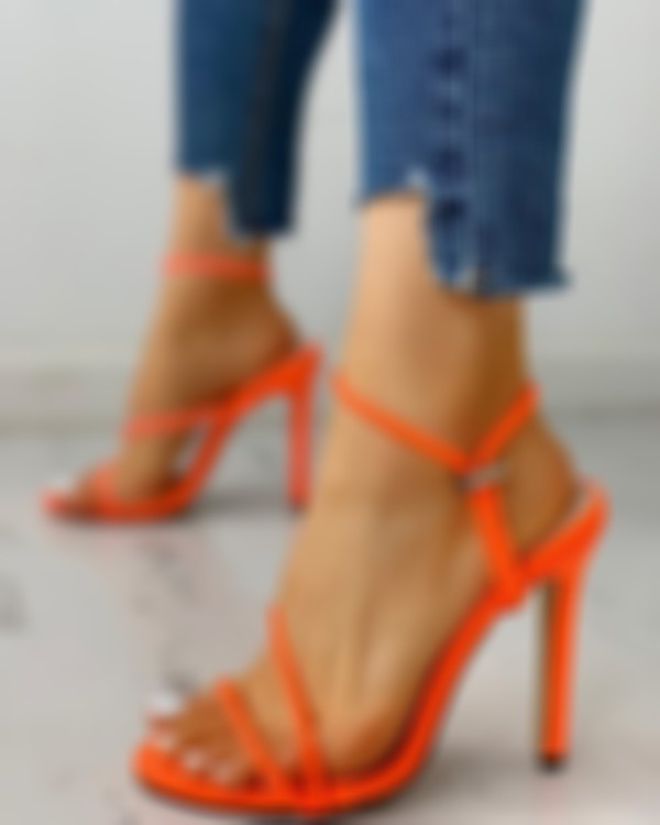 Trendy High Heel Shoes Chunky Shoes Sparkly High Heels