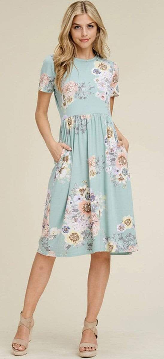 2020 Women Dress Casual Dress Print Long Gown Tall Ladies Clothing