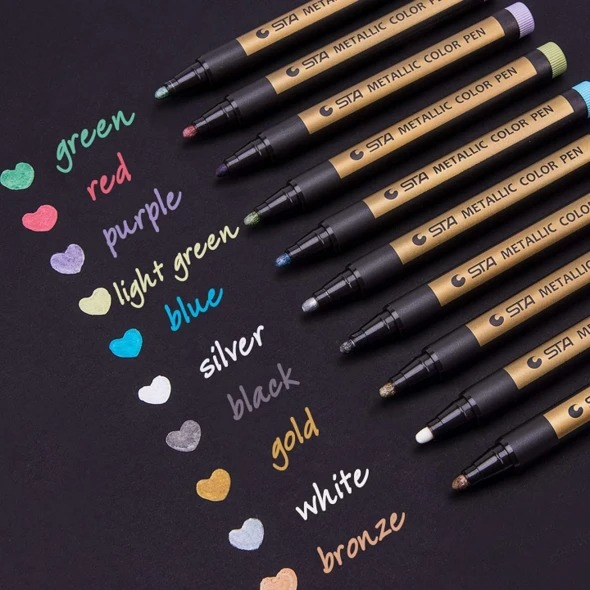 Last day promotion 50% OFF--Metallic Paint Marker Pens