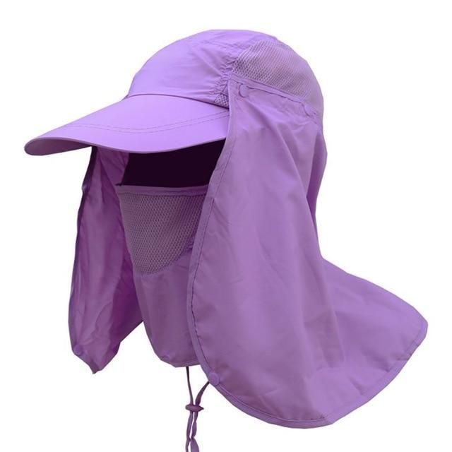 Outdoor 360° UV Protection Fishing Cap