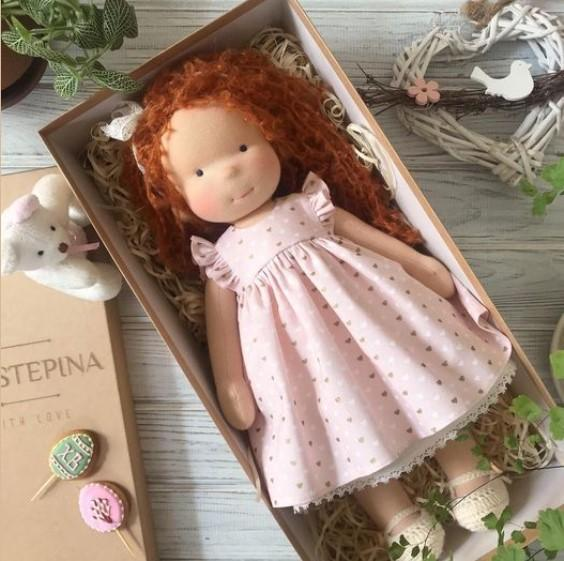 Waldorf doll with big set of clothes(HOT SALE.NEXT SHIPPING DAY 15 DAYS)
