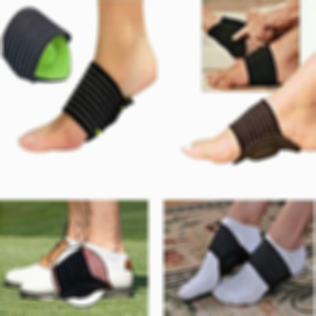 1 Pair Cushioned Arch Foot Support