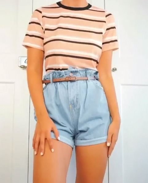 Short Jeans For Women Loose Shorts Womens Plus Size Blue Jean Shorts Really High Waisted Shorts