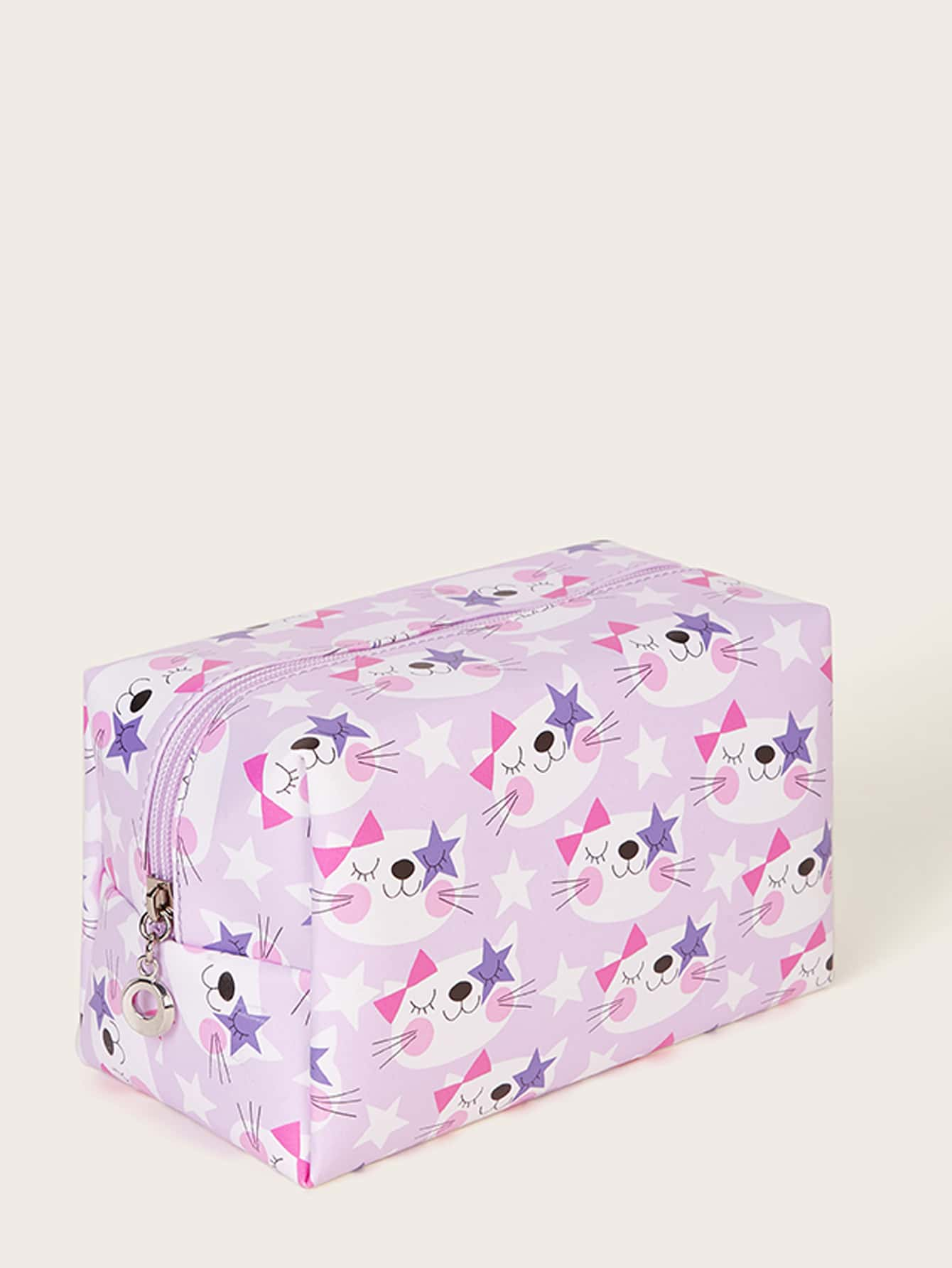 Cat Pattern Makeup Bag
