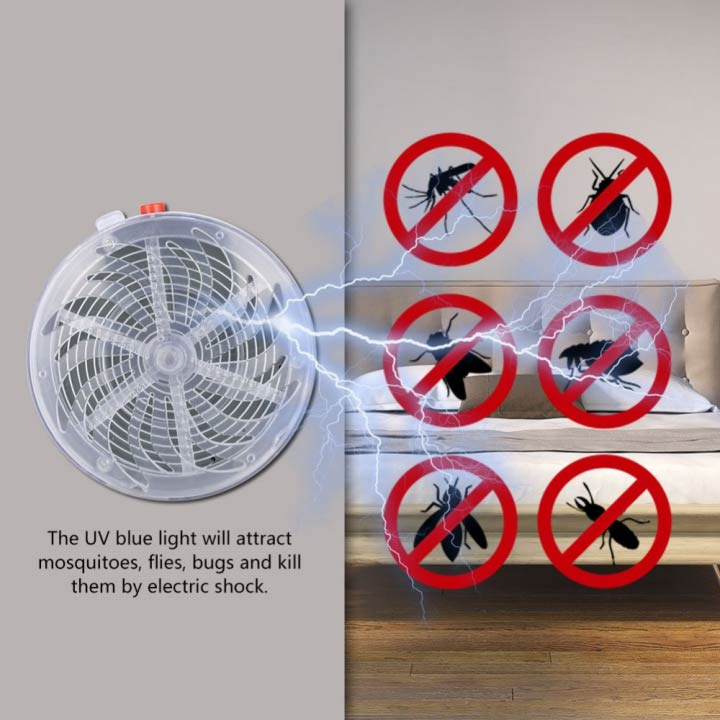 Solar Powered Bug Zapper - BUY 2FREE SHIPPING