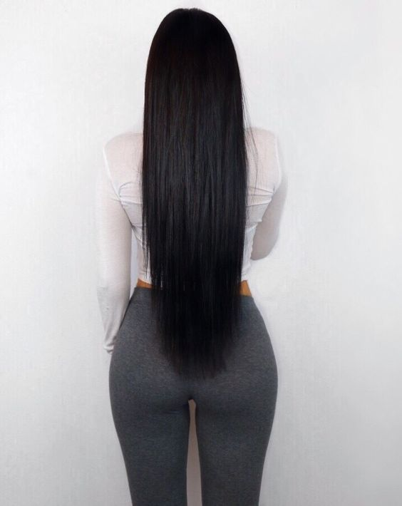 2020 New Straight Wigs Black Long Hair Straight Afro Hair Black Remy Hair Extensions