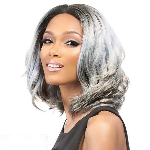 Faddish Water Wavy Wig Lace Front Length Wig