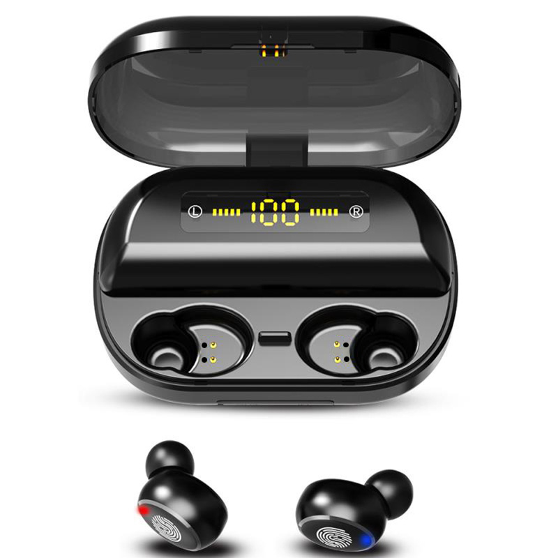 70%OFF-HIFI Touch Control Wireless Earbuds With Power Box