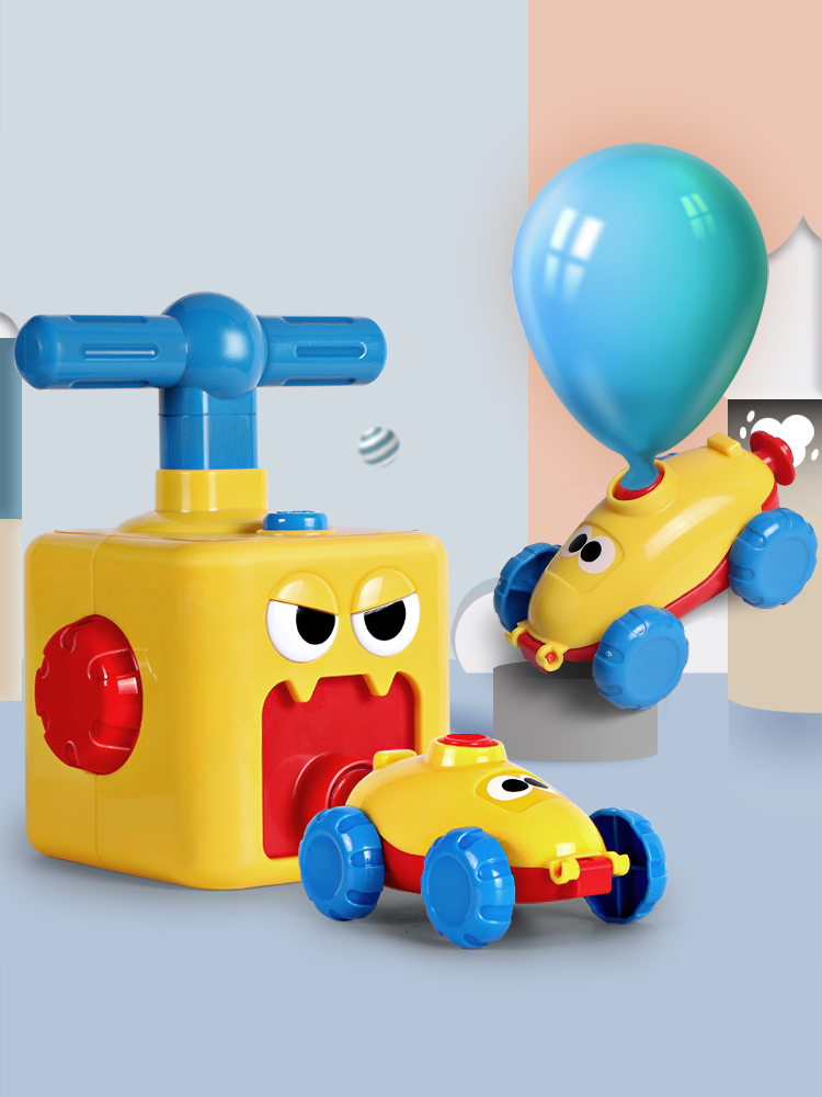 【PRE 6.1 PROMO】Balloons Car Children's Science Toy