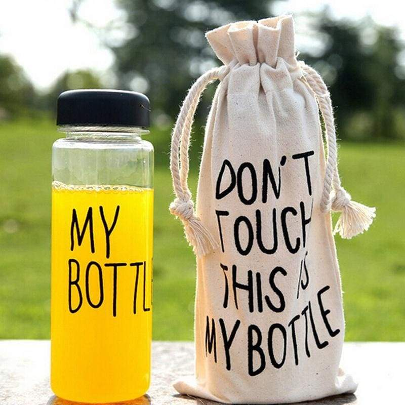 Hipster My Bottle Sport Fruit Juice Water Cup Portable 500ML Travel Bottle Bag New Shopping Carnival