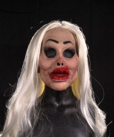 Big Price Cut -The woman mask and wig - Exclusive Selection(Buy 2 Free Shipping)