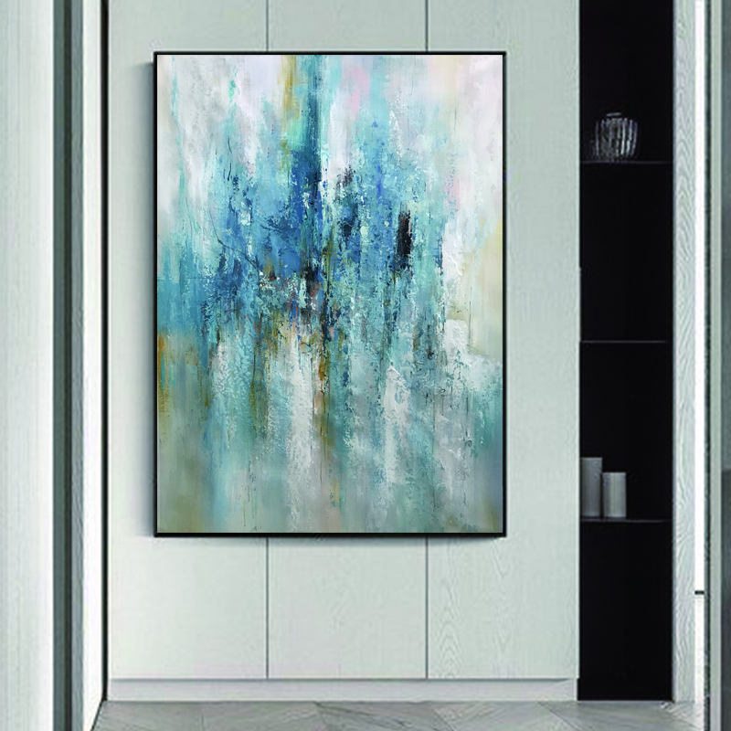 Hand-painted abstract oil painting artist home decorative art abstract canvas oil painting