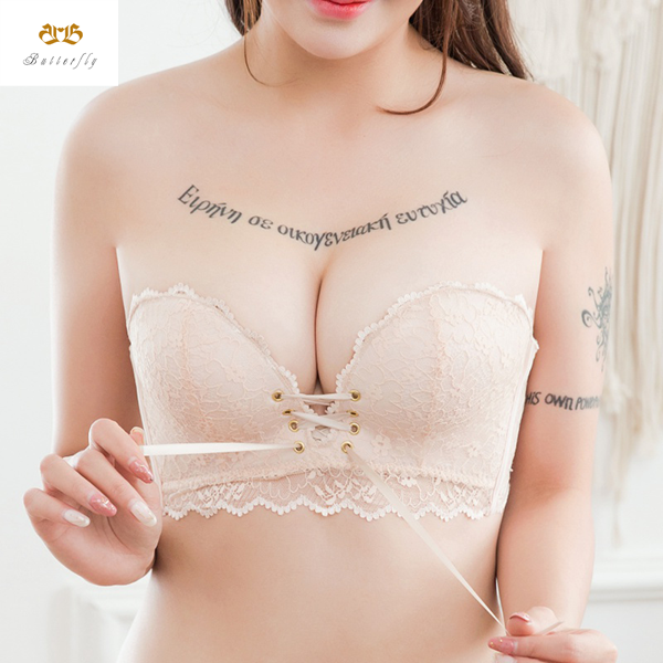 Butterfly™Magical Strap-Free Drawstring Push Up Bra