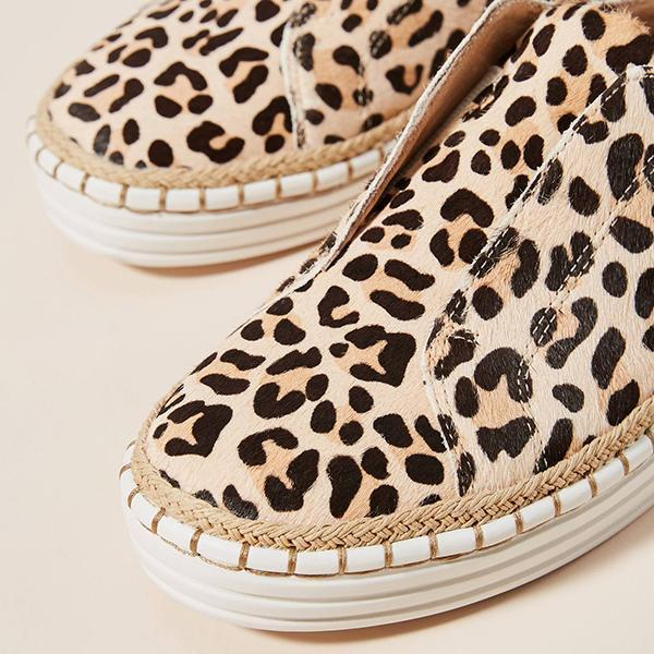 Lemmikshoes Hot Sale leopard  Sneakers
