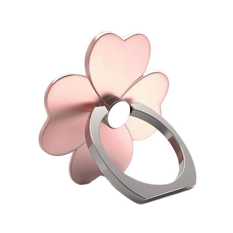 2 PCS Four Leaf Flower Phone Brackets Finger Ring Stand Tablet Desk Finger Grip Holder For All Smartphone Ring Grip Phone Holder