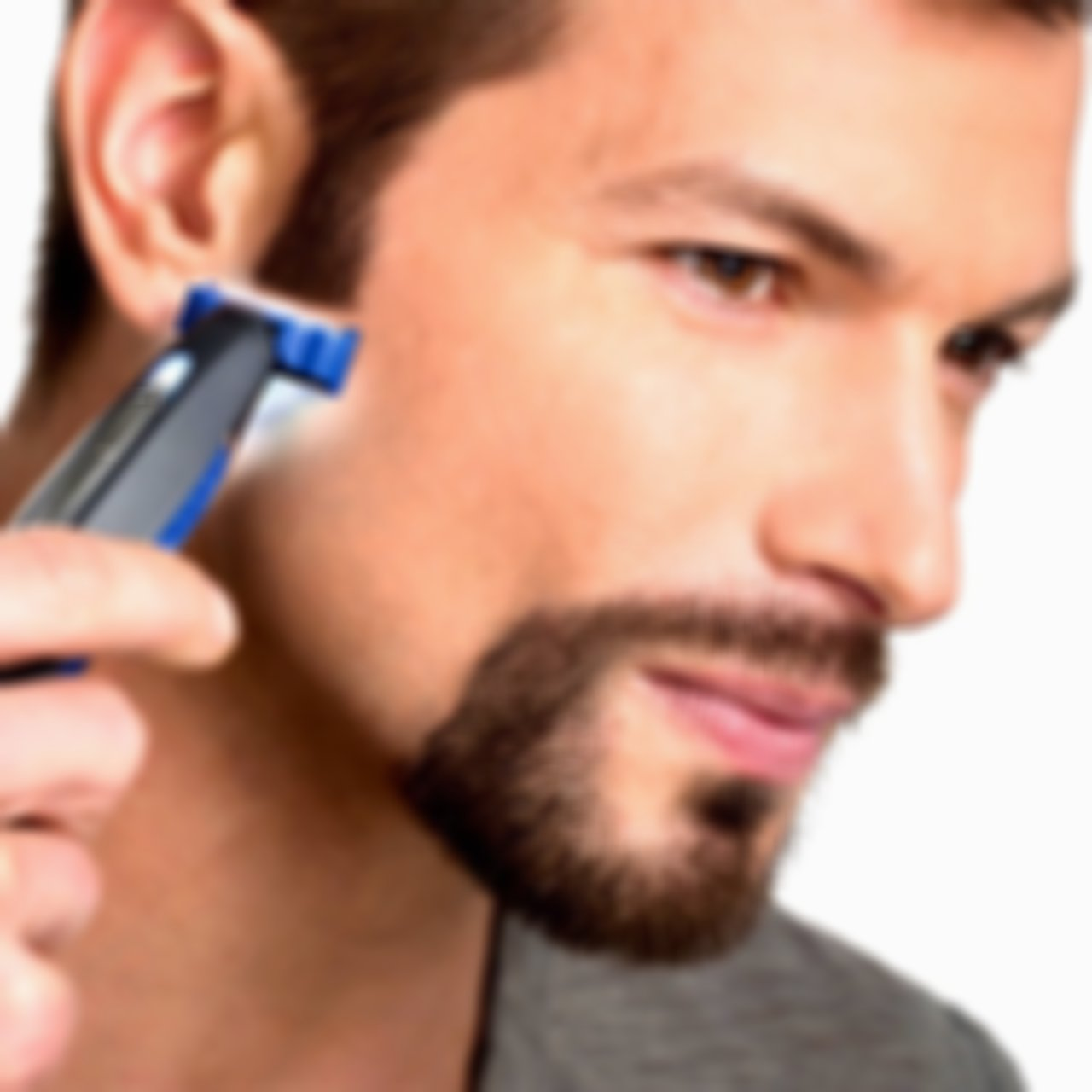 SKRTEN Smart Razor For Men Micro Touch SOLO Rechargeable Trims/Trimmer Edges Shaves As Seen On TV