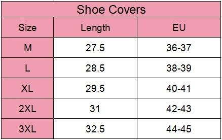 Outdoor Waterproof Rain Non Slip Covers Shoe Covers Sets Thick Wear Resistant Multiple Use Shoe Covers In The Tube